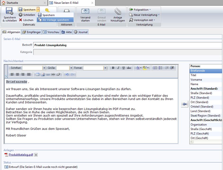 email support neu de